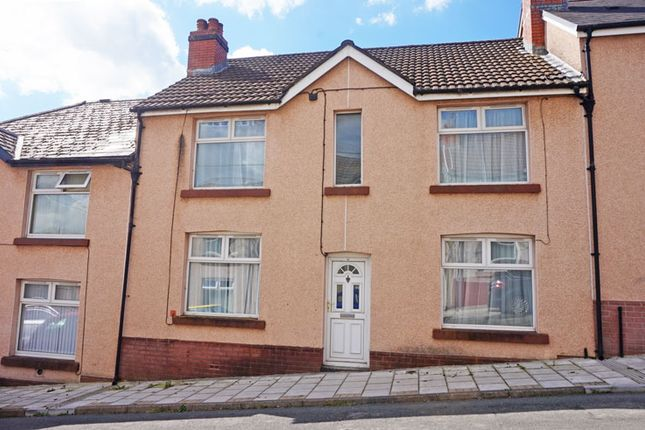 Thumbnail Terraced house for sale in Duffryn Street, Tir-Y-Berth, Hengoed