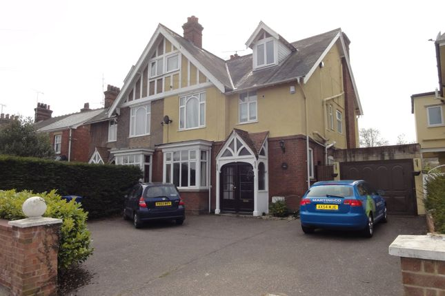 Thumbnail Town house to rent in Fornham Road, Bury St. Edmunds