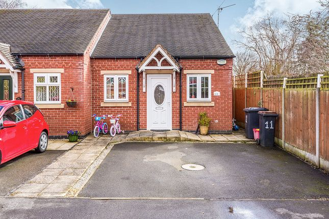 2 bed bungalow to rent in Ashby Road, Measham, Swadlincote