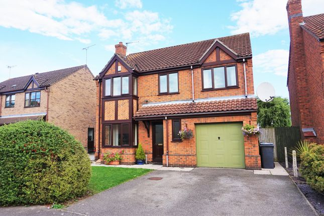 Thumbnail Detached house for sale in Foxfield Close, Skellingthorpe