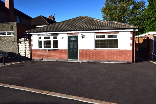 Thumbnail Bungalow for sale in Gwendolin Avenue, Birstall, Leicester
