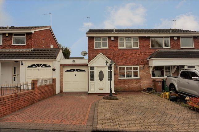 Thumbnail Semi-detached house for sale in Glenhurst Close, Briarsleigh, Walsall