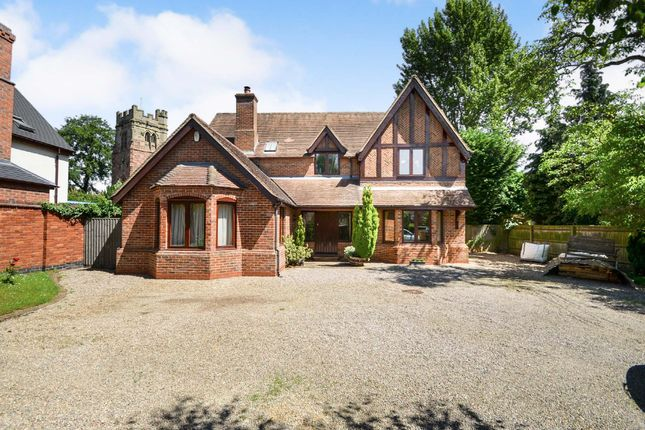 Thumbnail Detached house for sale in Daventry Road, Dunchurch, Rugby