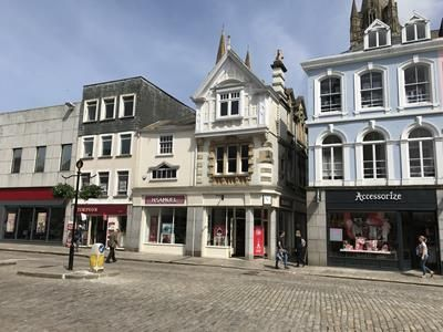 Thumbnail Commercial property for sale in 21-23, Boscawen Street, Truro, Cornwall