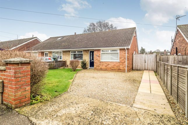Thumbnail Semi-detached house for sale in Gowing Road, Hellesdon, Norwich