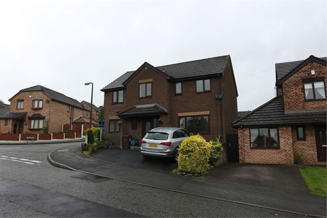 Thumbnail Detached house for sale in Wellfield Drive, Burnley, Lancashire