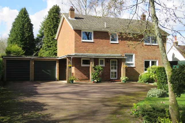Thumbnail Detached house for sale in Whinwhistle Road, East Wellow, Romsey