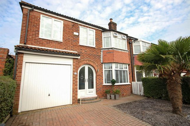 Thumbnail Semi-detached house for sale in Thorn Road, Swinton, Manchester
