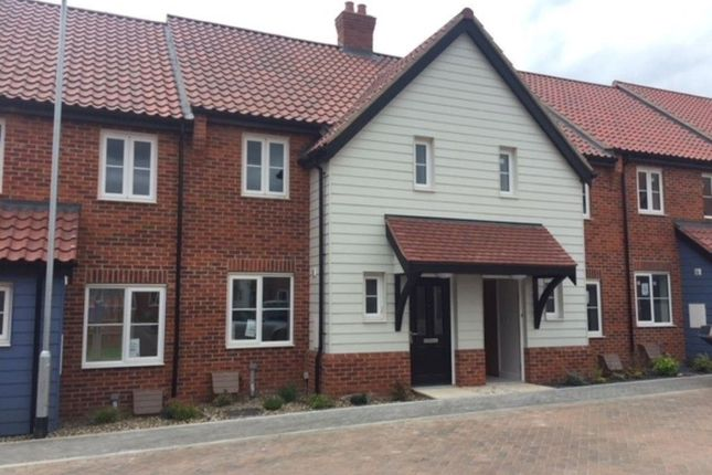 Thumbnail Town house to rent in Taylors Square, Poringland, Norwich