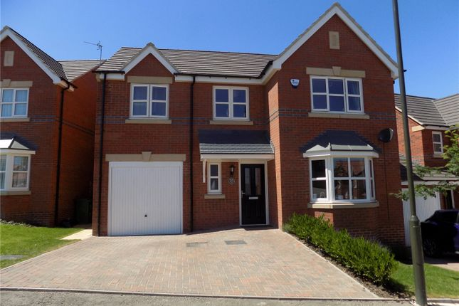 Thumbnail Detached house for sale in Varley Close, Heanor, Derbyshire