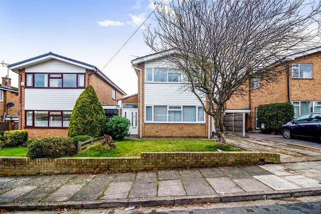Thumbnail Detached house for sale in Dawn Close, Ness, Neston