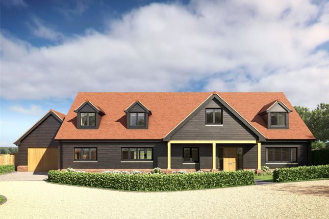 Thumbnail Detached house for sale in Holly Bush Close, Gibbs Brook Lane, Oxted, Surrey