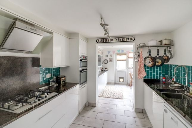 Thumbnail Terraced house for sale in Keywood Drive, Sunbury-On-Thames