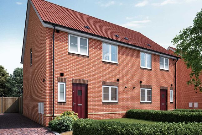 """Semi-detached house for sale in """"The Eveleigh A"""" at Halstead Road, Kirby Cross, Frinton-On-Sea"""