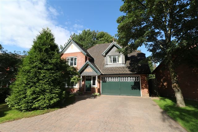 Thumbnail Detached house for sale in Robins Wood, Stanwix, Carlisle, Cumbria