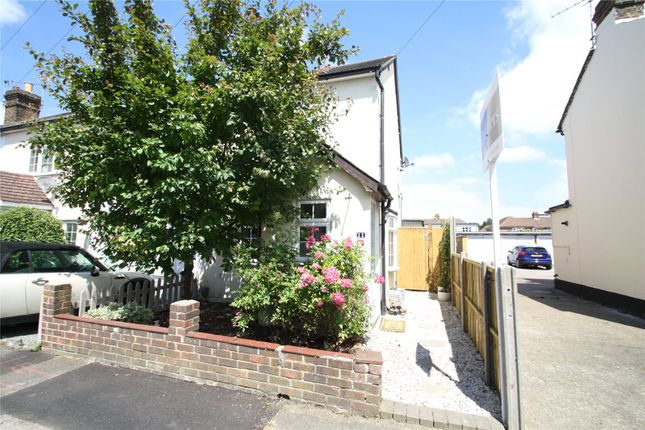 Thumbnail Semi-detached house for sale in Victoria Road, Addlestone, Surrey