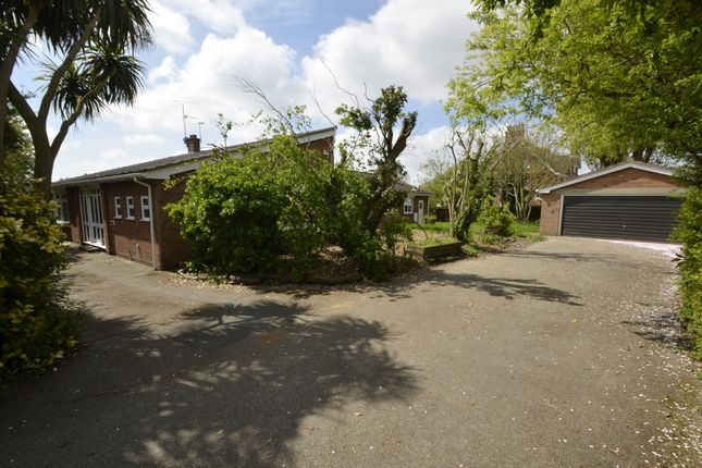 Thumbnail Detached bungalow for sale in Marcus Road, Felixstowe