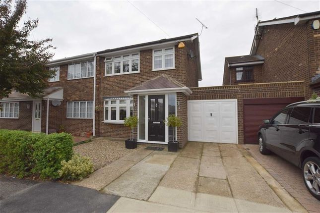 Thumbnail Semi-detached house for sale in Northlands Close, Stanford-Le-Hope, Essex