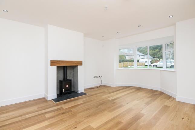 Living Room of Cae Llan, Llangernyw, Abergele, Conwy LL22