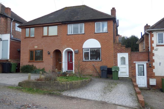 Thumbnail Semi-detached house to rent in Stratford Road, Bromsgrove