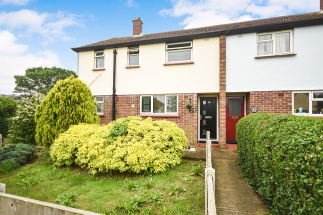 Thumbnail End terrace house for sale in Cheviot Drive, Chelmsford