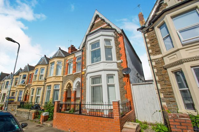 Thumbnail End terrace house for sale in Lochaber Street, Roath Park, Cardiff