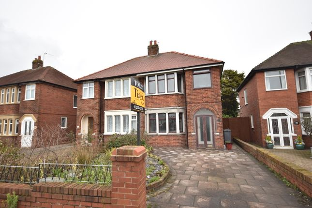 Thumbnail Semi-detached house to rent in Bispham Road, Blackpool, Lancashire