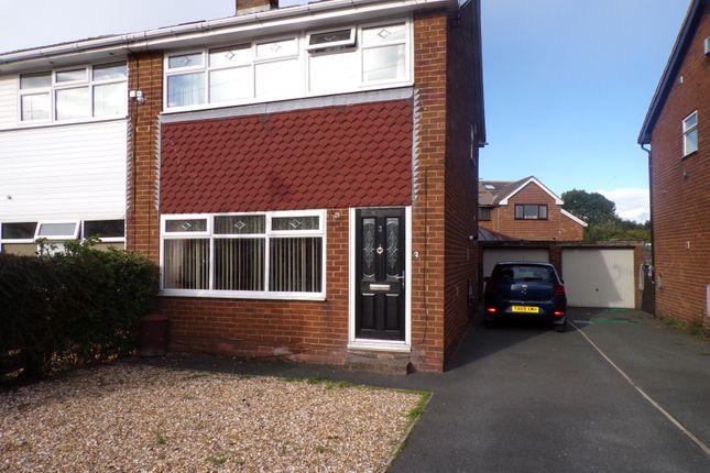 3 bed semi-detached house for sale in Sandringham Close, Clayton, Bradford BD14