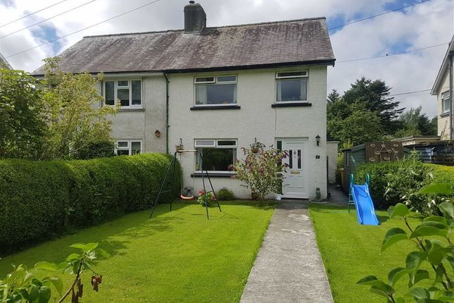 Thumbnail Semi-detached house for sale in Maesmagwr, Abermagwr, Aberystwyth