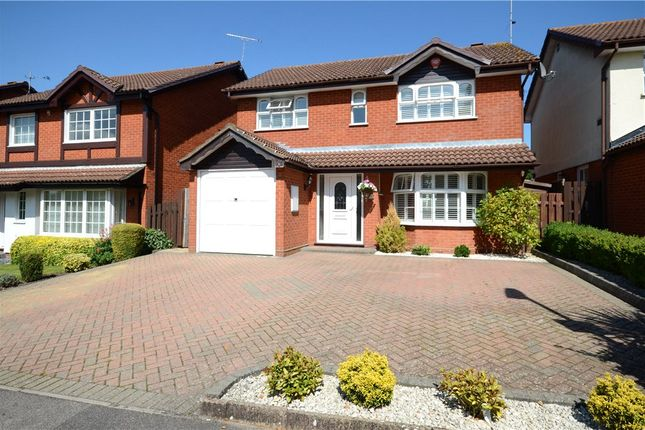 Thumbnail Detached house for sale in Constable Way, College Town, Sandhurst