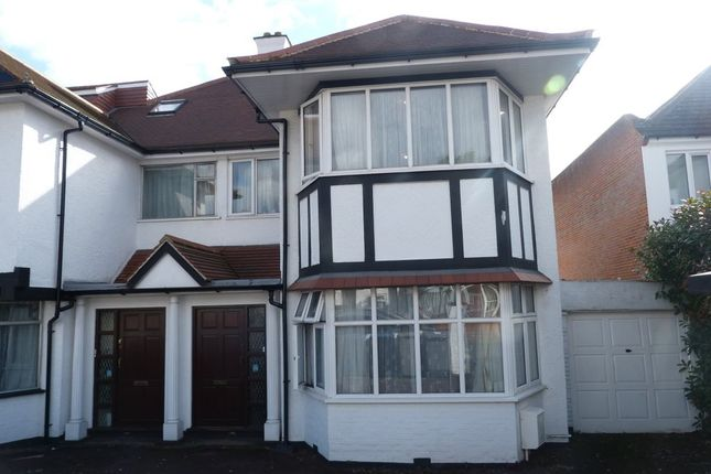 Thumbnail Semi-detached house to rent in Mount Pleasant Road, Brondesbury Park, London
