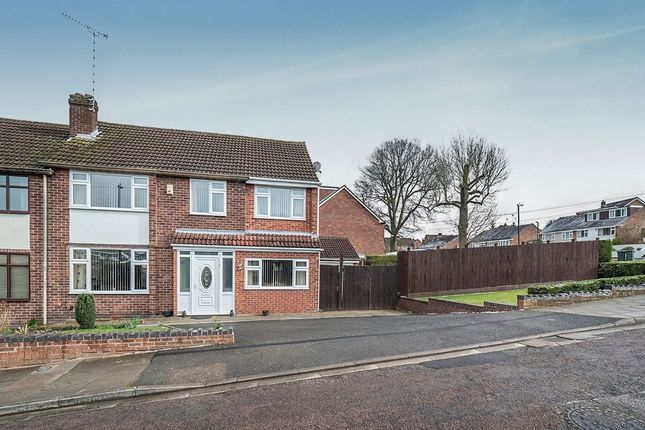 Thumbnail Semi-detached house for sale in Bishopton Close, Coventry