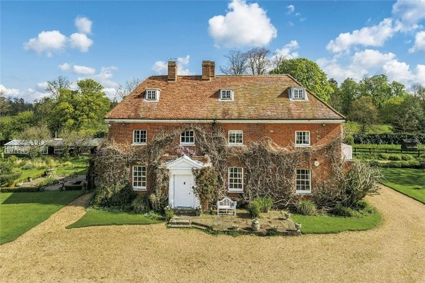 Thumbnail Detached house for sale in Park Stile, Love Hill Lane, Nr Iver, Buckinghamshire