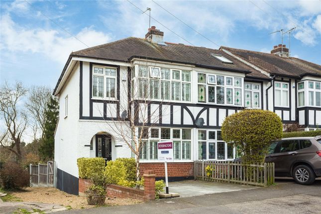 Thumbnail End terrace house for sale in Westwood Avenue, Brentwood, Essex