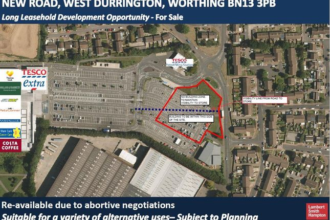 Thumbnail Land for sale in 91 New Road, Durrington, Worthing, South East
