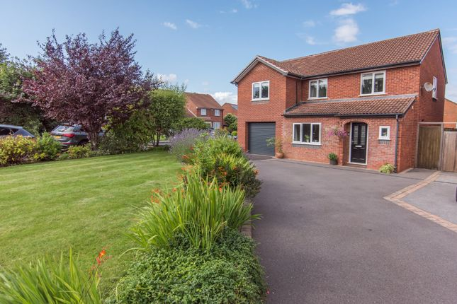 Thumbnail Detached house for sale in Darnford Close, Wylde Green, Sutton Coldfield