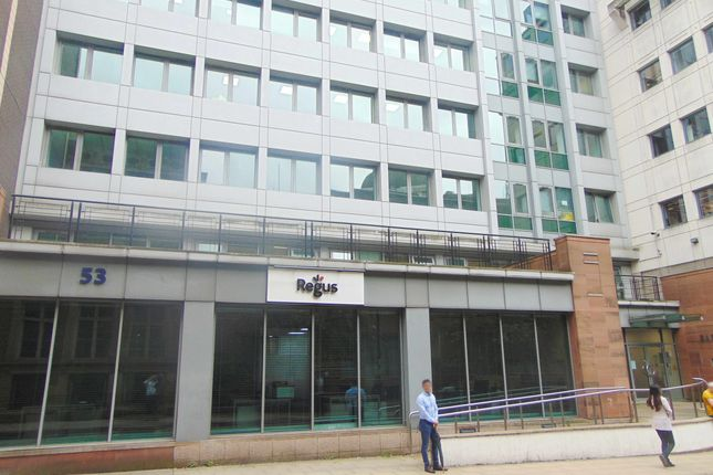 Office to let in Fountain Street, Manchester