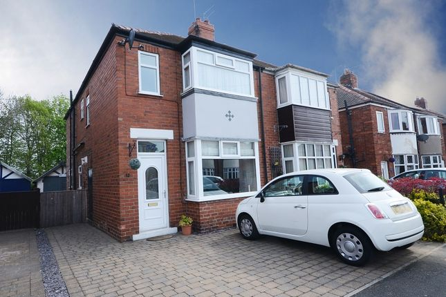 Thumbnail Semi-detached house for sale in Langholme Drive, Off Boroughbridge Rd. York