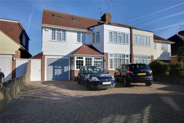 Thumbnail Semi-detached house for sale in Trent Road, Goring By Sea, Worthing, West Sussex