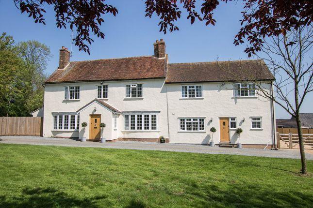 Thumbnail Farmhouse for sale in Debden Green, Saffron Walden