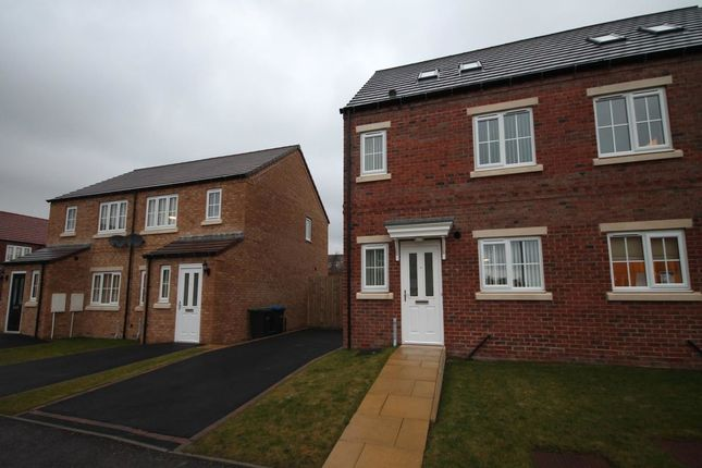 Thumbnail Semi-detached house to rent in Askrigg Close, Delves Lane, Consett