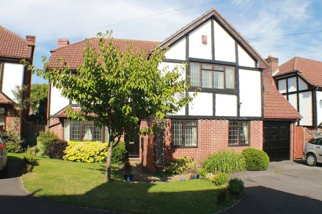 Thumbnail Detached house for sale in Woodpecker Copse, Locks Heath, Southampton