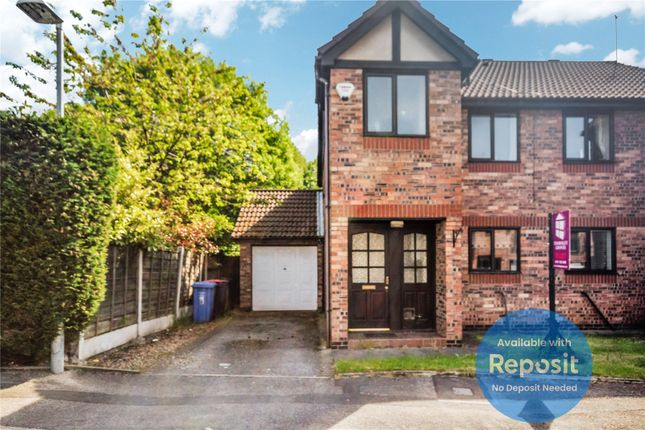 Thumbnail Semi-detached house to rent in Border Brook Lane, Boothstown, Worsley