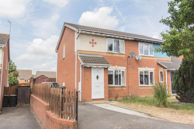Thumbnail Semi-detached house for sale in Middle Grass, Irthlingborough, Wellingborough