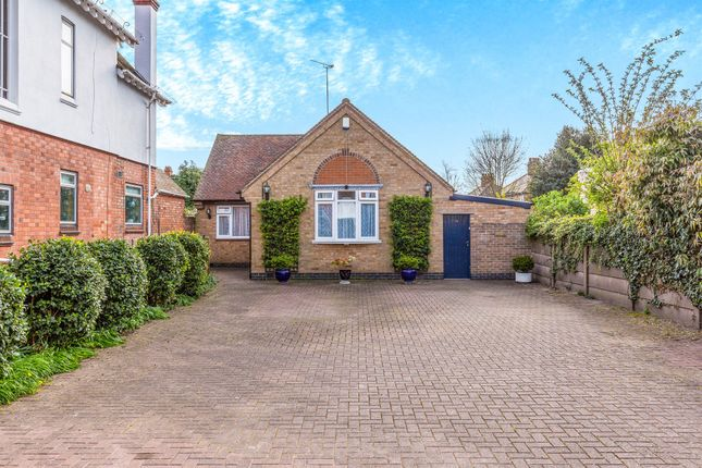 Thumbnail Detached bungalow for sale in Park Road, Loughborough