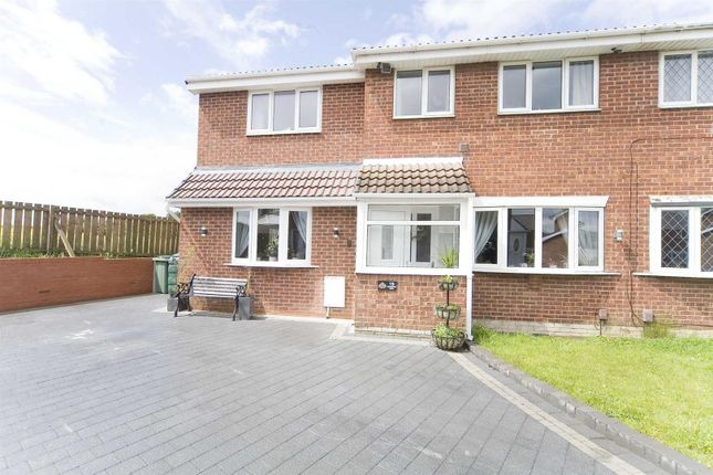 Thumbnail Semi-detached house for sale in Ravenwood Close, Hartlepool