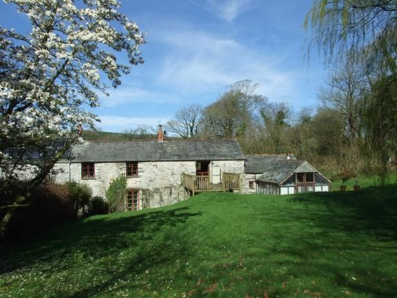 Thumbnail Barn conversion for sale in Nr St Teath, Cornwall