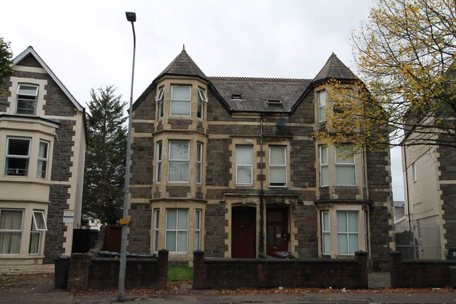 Thumbnail Flat to rent in Richmond Road., Cardiff