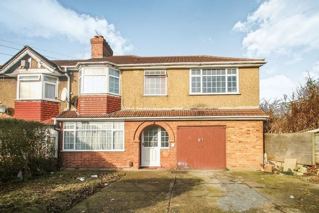 Thumbnail Terraced house to rent in Girton Road, Northolt