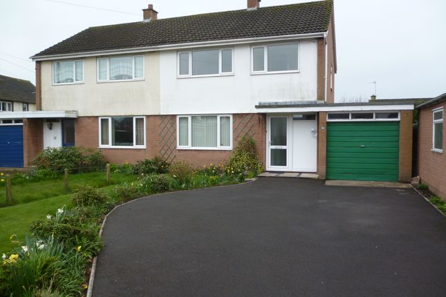 Thumbnail Semi-detached house to rent in Netherby Road, Longtown, Carlisle